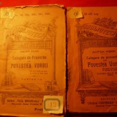 Anton Pann - Povestea Vorbei -BPT -2 vol.- Ed. Interbelica