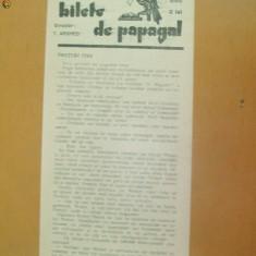 Revista Bilete de papagal nr 288 1929