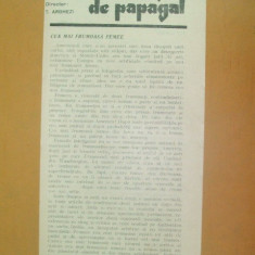 Revista Bilete de papagal nr 295 1929