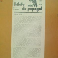 Revista Bilete de papagal nr 294 1929