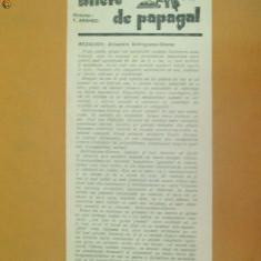 Revista Bilete de papagal nr 318 1929