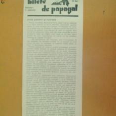 Revista Bilete de papagal nr 375 1929