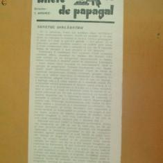 Revista Bilete de papagal nr 292 1929