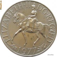 Anglia - Crown - 5 Shillings 1977 Elisabeta a II a