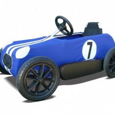 Masinuta cu pedale Blue Race Car - aproape noua