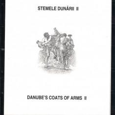 ROMANIA-2010 STEMELE DUNARII II - CARTON FILATELIC - LP 1880 b - Timbre Romania, Nestampilat