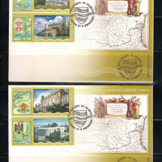 ROMANIA-2010 STEMELE DUNARII II - FDC - LP 1880 - Timbre Romania, Nestampilat