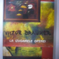 VICTOR BRAUNER -La izvoarele operei -album - Album Arta