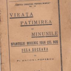 Vieata, patimirea si minunile Sf.Ioan cel Nou din Suceava (1943 - Vietile sfintilor