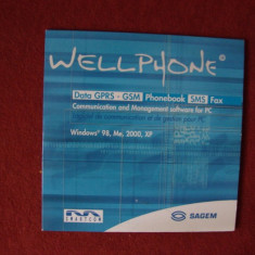 SAGEM WELL PHONE SOFTWARE PT PC, Altul