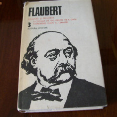 FLAUBERT OPERE VOL, 3, BOUVARD SI PECUCHET - Roman, Anul publicarii: 1984