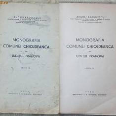Radulescu, Monografia comunei Chiojdeanca, jud. Prahova, 1940 - Carte Editie princeps