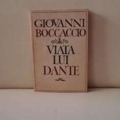 Viata lui Dante - Giovanni Boccaccio - Biografie