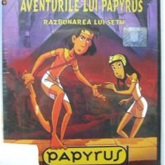 AVENTURILE LUI PAPYRUS RAZBUNAREA LUI SETH (DVD) SIGILAT desene animate - Film animatie, Romana