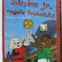 SIMBA JR, REGELE FOTBALULUI (DVD) SIGILAT desene animate - Film animatie, Romana