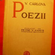 VASILE CARLOVA - POEZII - ed cca.1936 - Carte poezie
