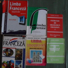 Manuale scolare de franceza - Manual scolar, Limbi straine