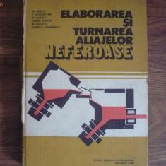 CARTI TEHNICE DE PRELUCRAREA SI TURNAREA METALELOR