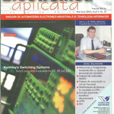 Revista Electronica aplicata -mai-iunie 2003 - Revista IT