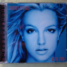 BRITNEY SPEARS - In The Zone - C D Original NOU