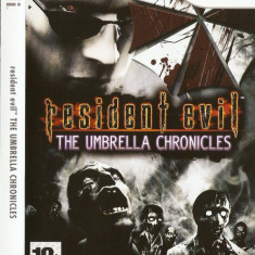 JOC WII RESIDENT EVIL THE UMBRELLA CHRONICLES ORIGINAL PAL / STOC REAL / by DARK WADDER - Jocuri WII Capcom, Actiune, 18+, Single player