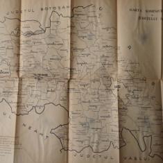 Delimitarea municipiului Iasi, a oraselor si comunelor din jud. Iasi, 1968 - Carte Editie princeps