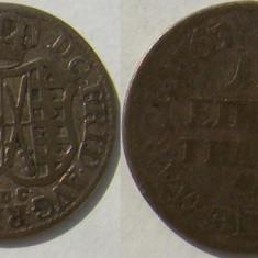 Saxony 1/12 thaler  1763 EDC