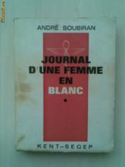 ANDRE SOUBIRAN - JOURNAL D'UNE FEMME EN BLANC {1965}