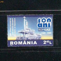 ROMANIA-2009 ROMGAZ 100 ANI  LP 1831
