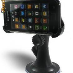 Suport + incarcator auto Samsung i9000 i9001 i9003 Galaxy S + folie + stylus - Suport auto