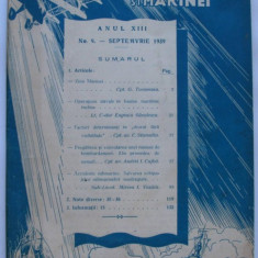 Revista aeronauticei si marinei no.9 - 1939