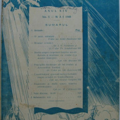 Revista aeronauticei si marinei no.5 - 1940