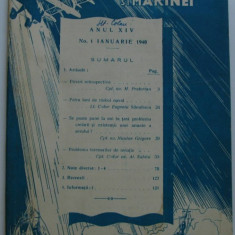 Revista aeronauticei si marinei no.1 - 1940