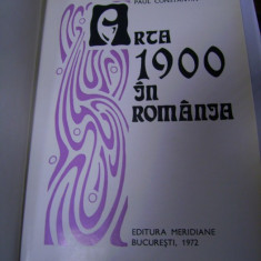 Arta 1900 in Romania -Paul Constantin