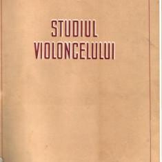 DIMITRIE GH. DINICU - STUDIUL VIOLONCELULUI - Roman