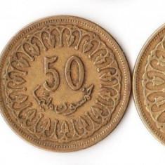 LOT MONEDE TUNISIA