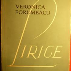 VERONICA PORUMBACU - LIRICE - Prima Ed.1957 - Carte poezie