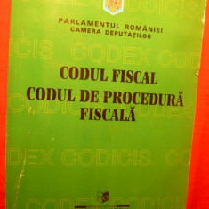 CODUL FISCAL - CODUL DE PROCEDURA FISCALA - Carte Drept bancar