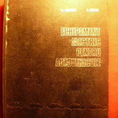Echipament electric pt. autovehicule - 1972