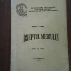 2102 Dreptul Mediului Curs1993 Ernest Lupan Univ.D.Cantemir - Curs hobby