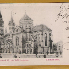 TIMISOARA 1903 - Carte Postala Banat pana la 1904, Circulata, Printata