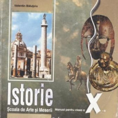 ISTORIE - MANUAL PT CLS A X A SAM ED. DIDACTICA SI PEDAGOGICA - Manual scolar didactica si pedagogica, Clasa 10