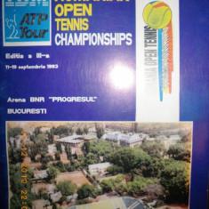 Program Romanian Open Tenis, 1993, editia a treia