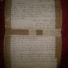 Scrisoare veche datata 17 dec 1876