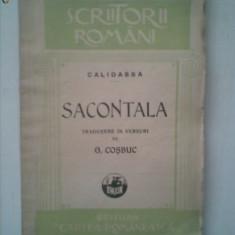CALIDASA - SACONTALA {poema indiana 1928}