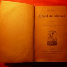 ALFRED DE MUSSET - POESIES 1833-1852