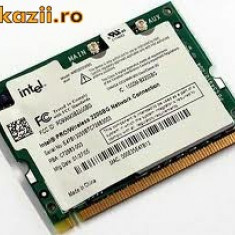 placi de retea wireless mini PCI 2200BG standard G