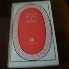 LUCIAN BLAGA POEZII