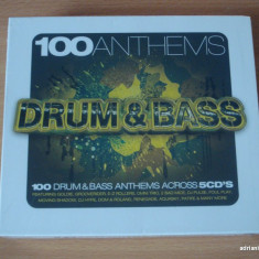 100 Anthems Drum and Bass (5CD) - Muzica Drum and Bass