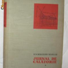 N N Mikluho-Maklai Jurnal de calatorie 1870-72 ES 1959 - Carte de calatorie